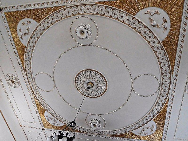 Wesleyan Chapel ceiling