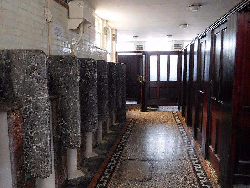 Wesleyan Chapel: Victorian gents toilets