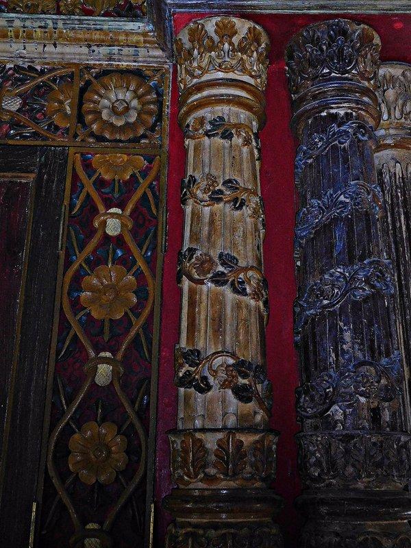CRANG 7i Detail of  Chendamangalam synagogue torah cupboard