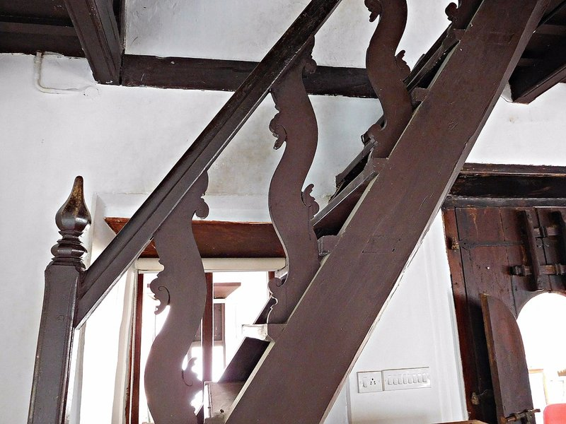 CRANG 7k Chendamangalam synagogue internal staircase