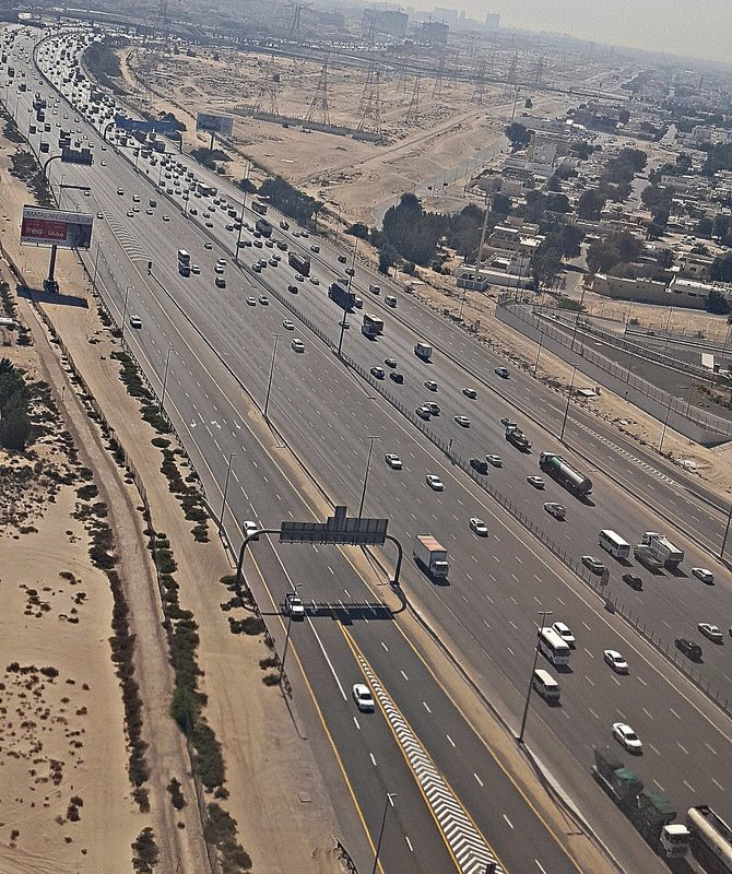 DES 9f Highway in Dubai