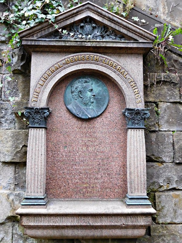 EDDEAN 21b William Nelson at St Bernards Well