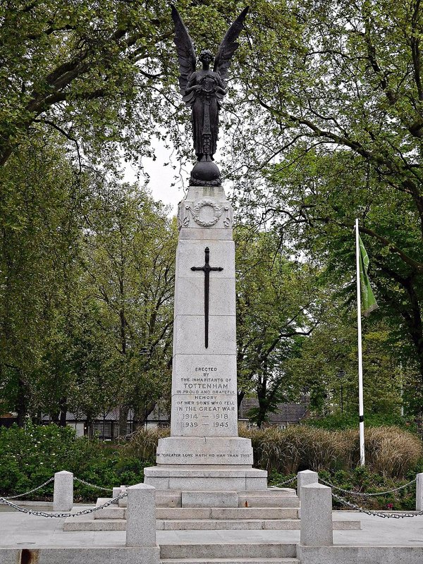 Tottenham Green war memorial