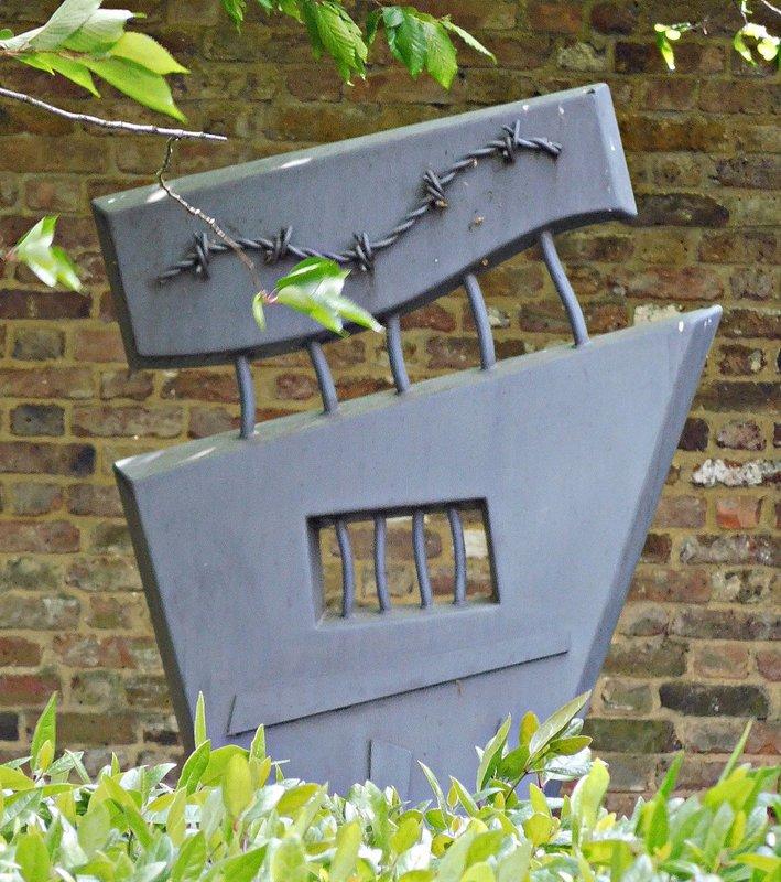Bruce Castle Garden of Remembrance sculpture