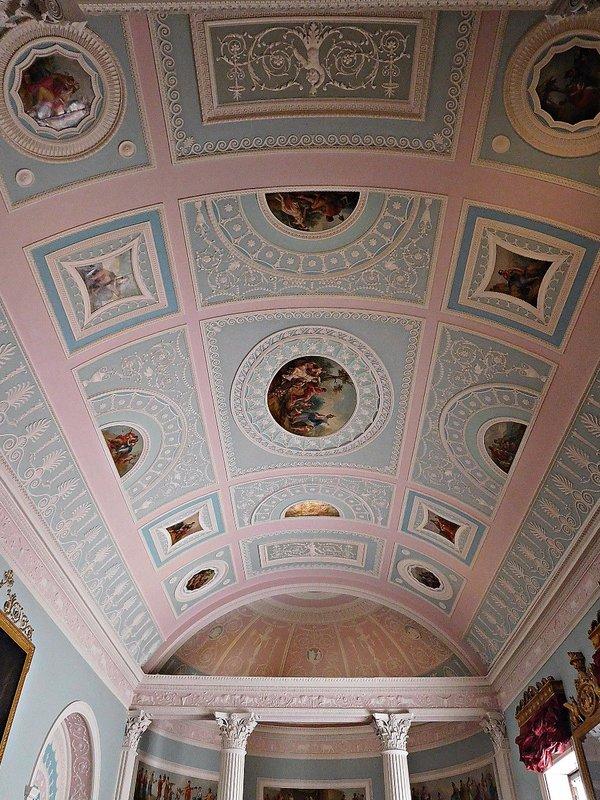Kenwood library ceiling