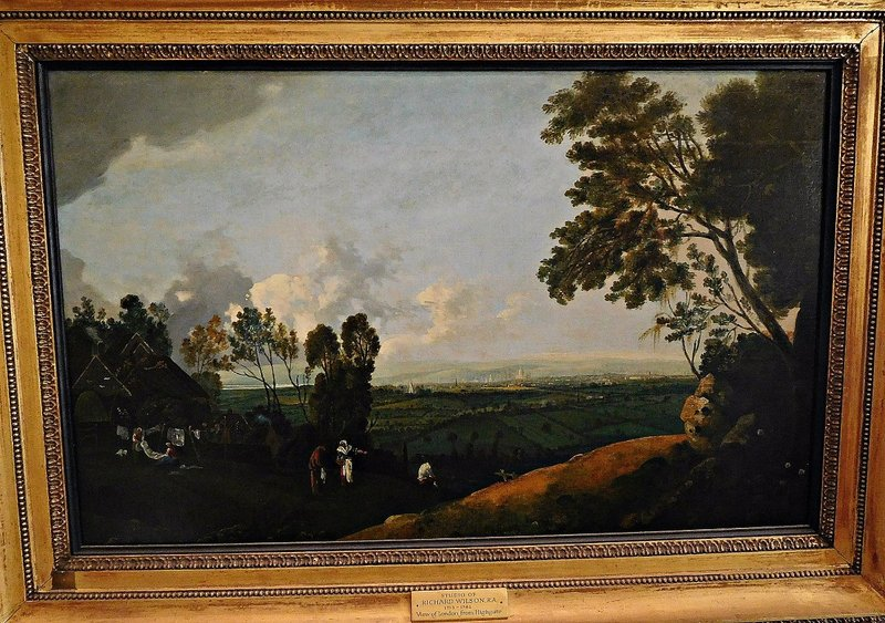 Kenwood View from Highgate by 'school of Richard Wilson'