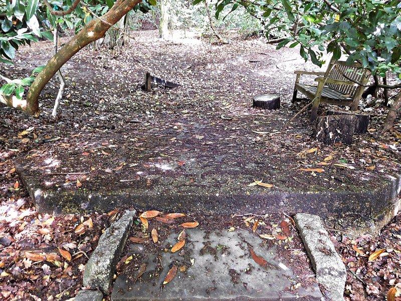 Kenwood Base where Dr Johnsons summer house stood