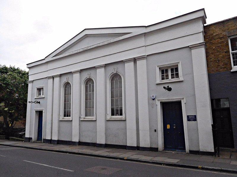 Chapel on Southwood Lane is now Highgate School Museum
