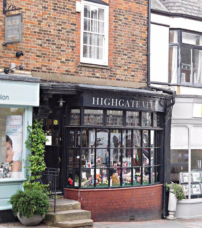 Formerly Fisher and Sperr bookshop Highgate High Street