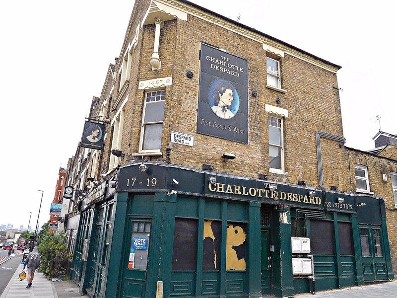 Charlotte Despard pub Archway Rd