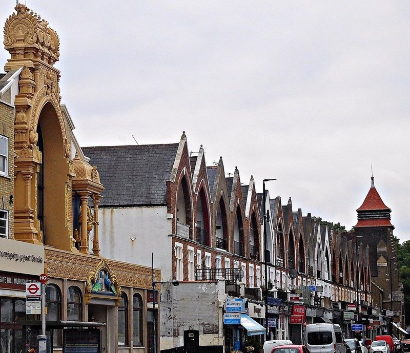 Two faiths Archway Road