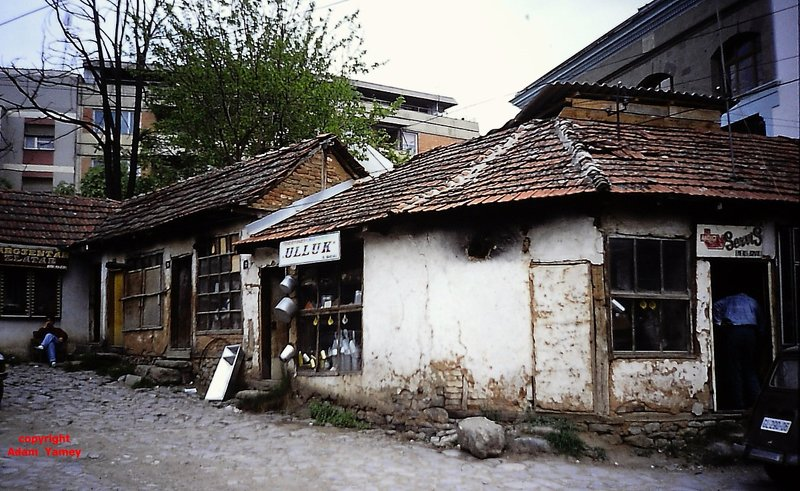 GNJILAN 1990 Old shops