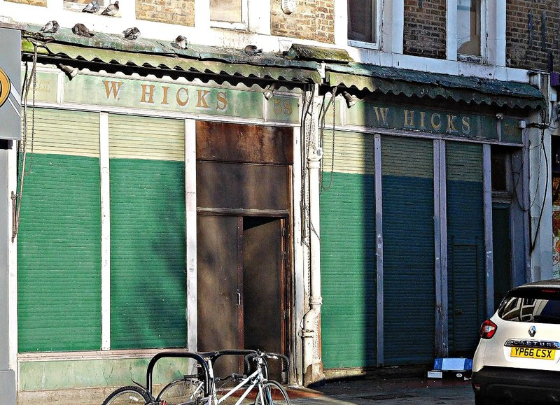 Former Hicks greengrocers