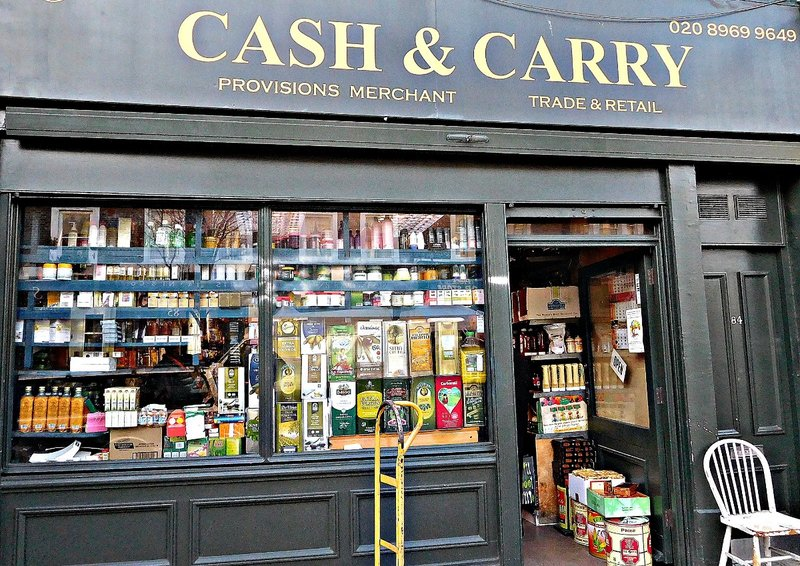 Cash and Carry at 84 Golborne Rd