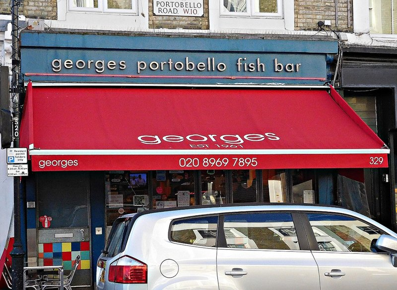 Georges Portobello Fish Bar