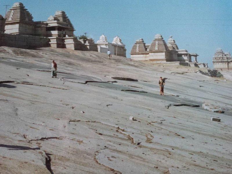 Jain Temples at Hampi. 1996