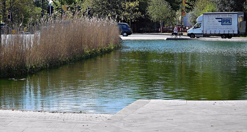 Whitestone Pond with its ramps