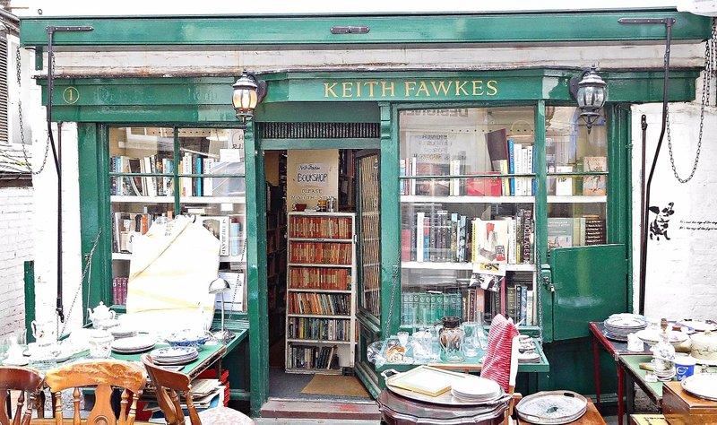 Keith Fawkes bookshop