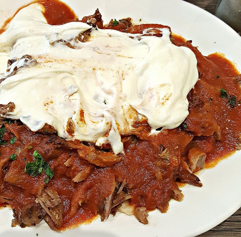 Gökyüzü Restaurant: Iskender kebab