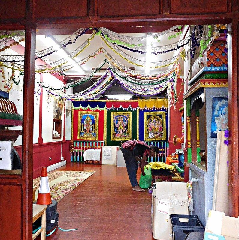 Hindu temple Green Lanes