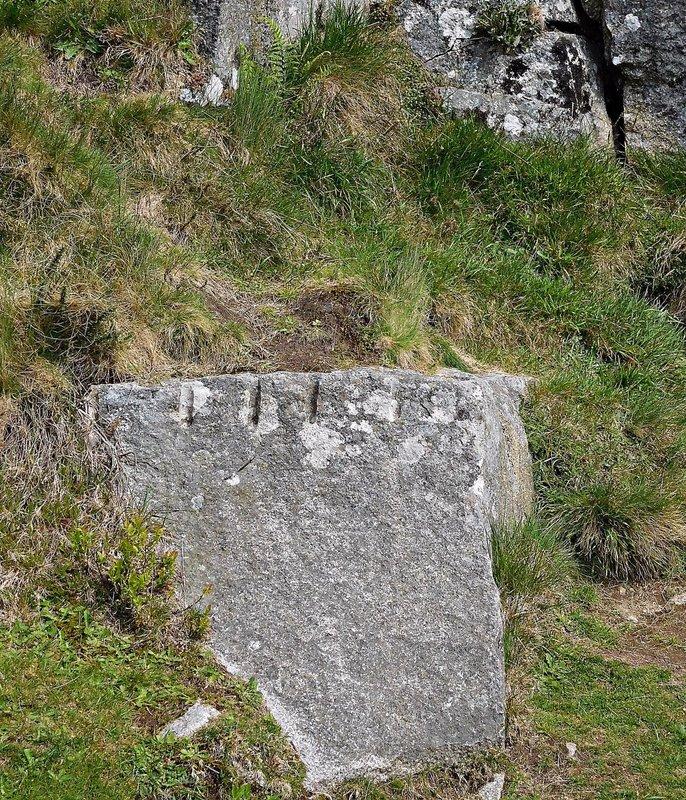 HAVASU 0e Haytor Quarry: worked stone