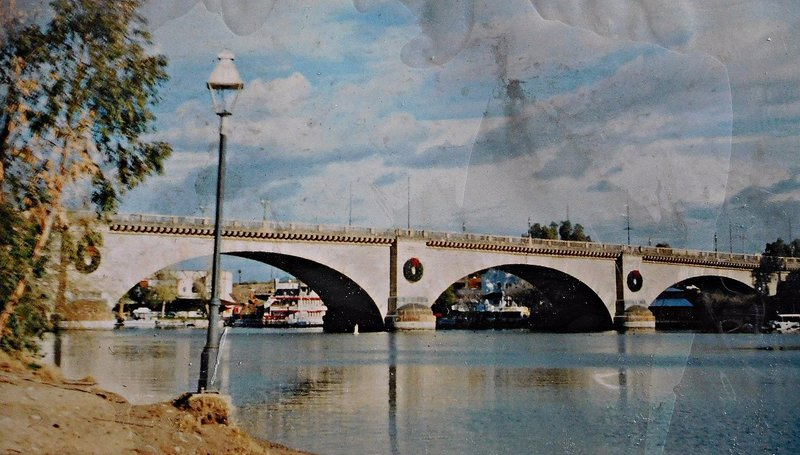 London Bridge at  Lake Havasu City