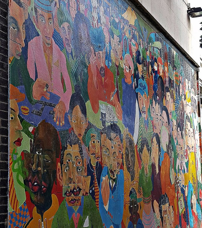 Notting Hill mural