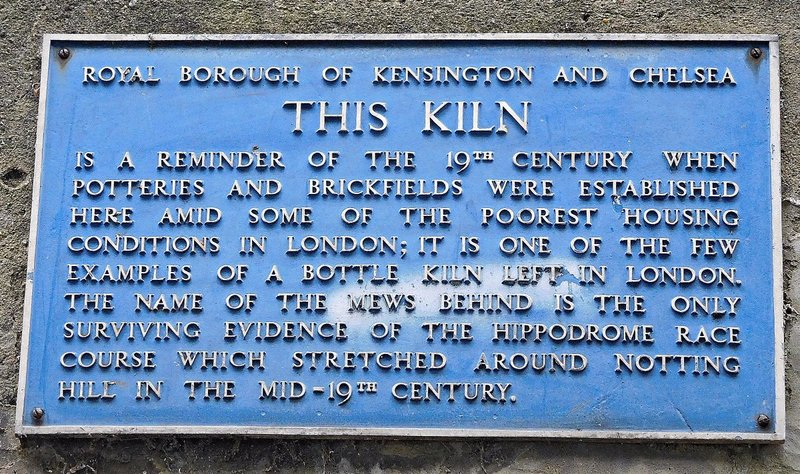 Kiln plaque