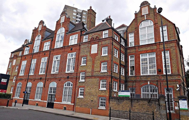 Former Latymer Road School Freston Street 1879
