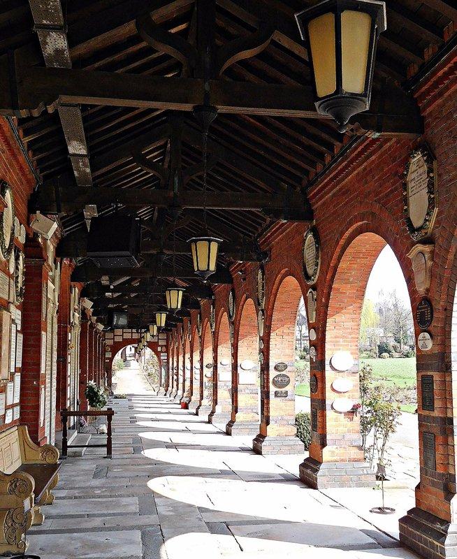 CREMATORIUM Garden cloisters