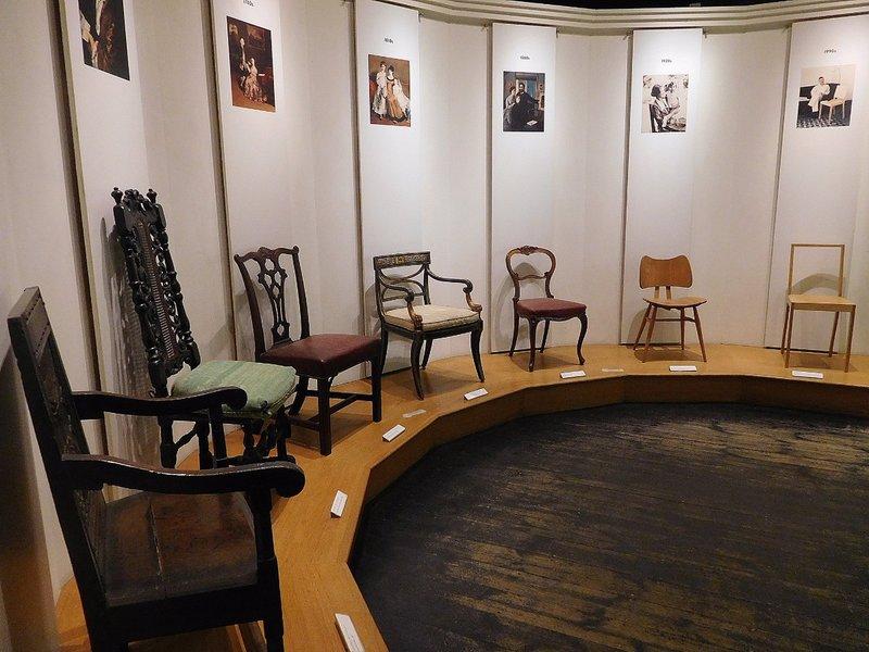 Inside Geffrye Museum