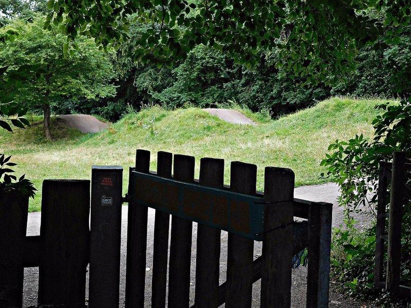 Haggerston Park BMX track