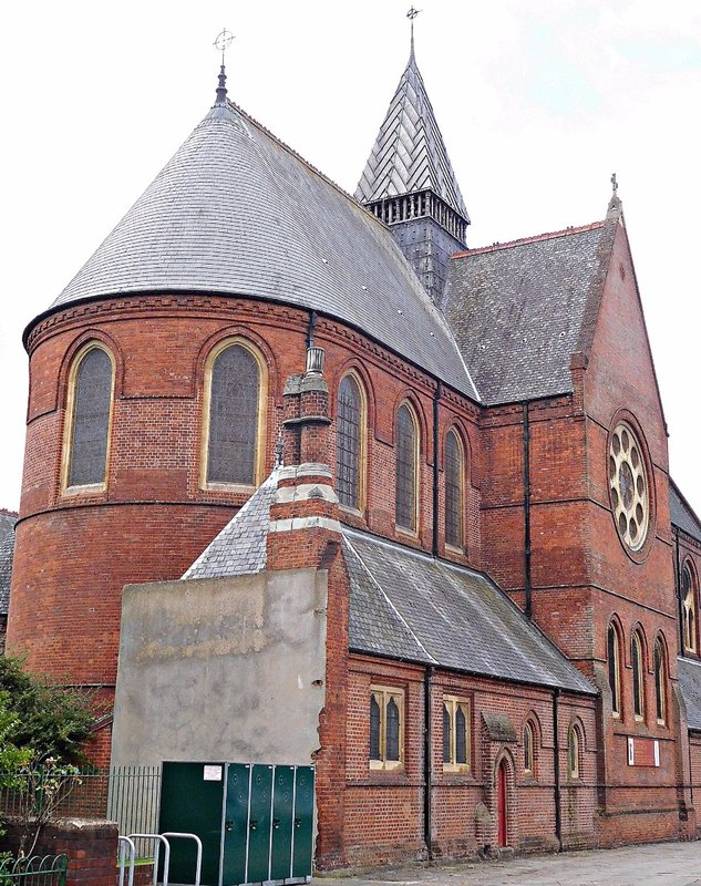 Rear of St Chads