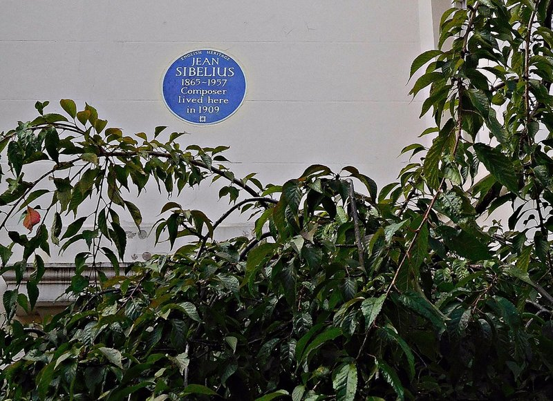 Sibelius in Gloucester Walk Kensington