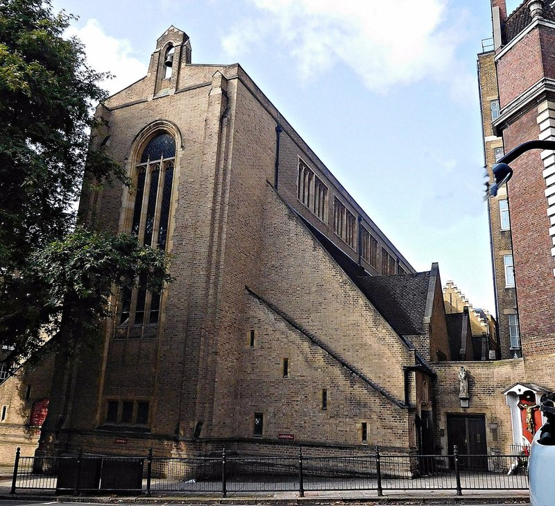 Carmelite Church Kensington Church Street