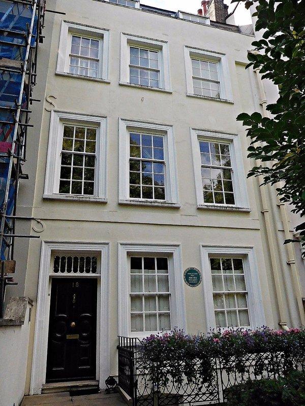 John Stuart Mills 18 Kensington Sq