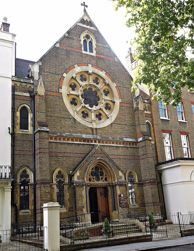 Maria Assumpta Church Kensington Sq