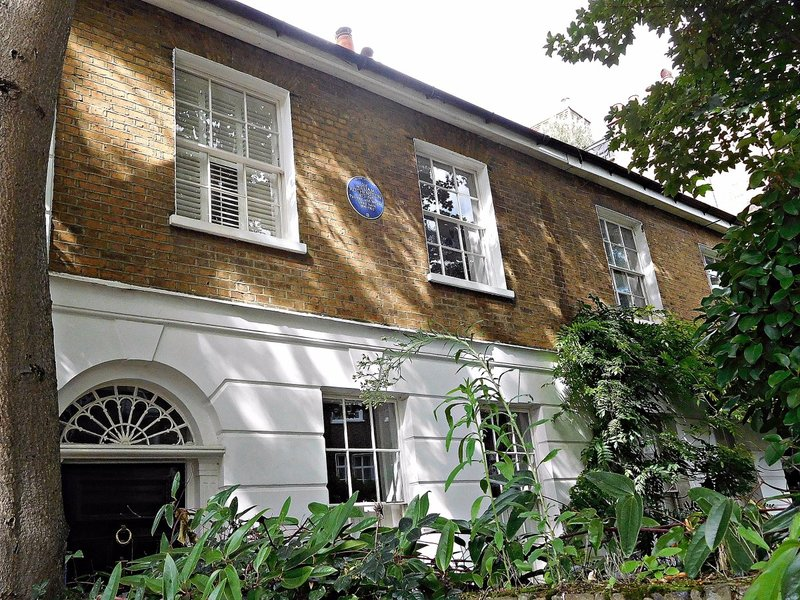 Edwardes Sq Sir William Rothenstein lived here