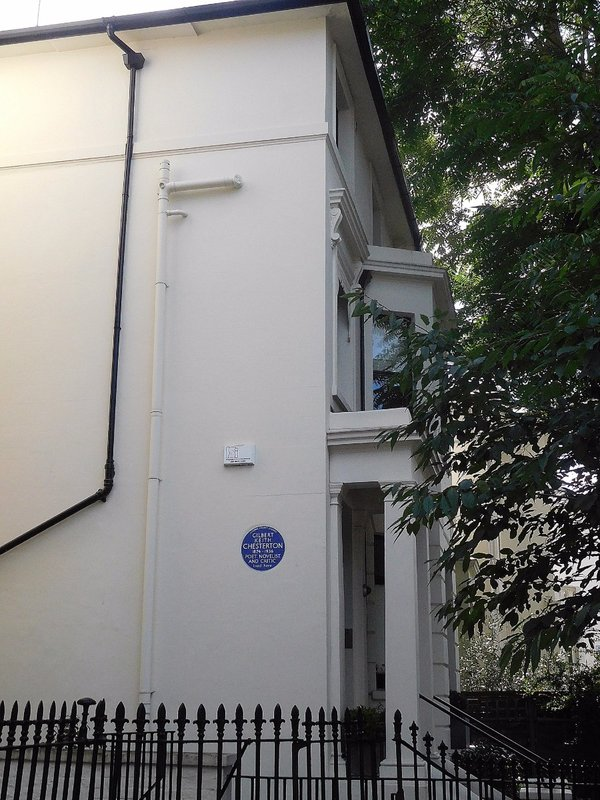 GK Chesterton lived on Warwick Gardens
