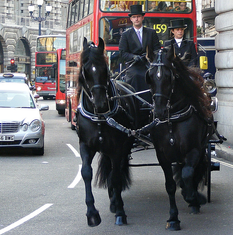 Two Horse-Power in Regent Street