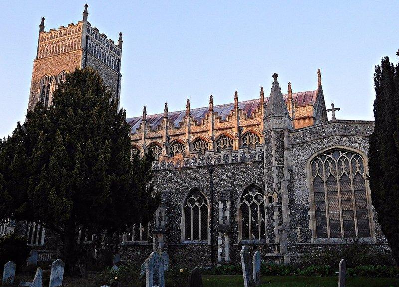LEI 12e St Margarets parish church