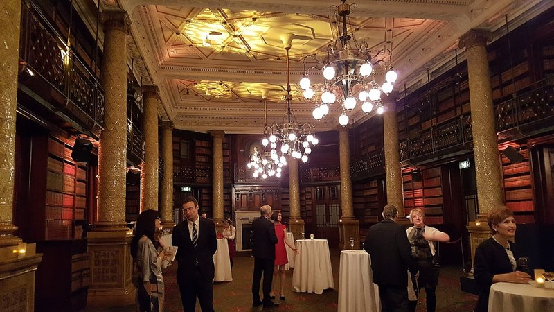 Gladstone library in National Liberal Club
