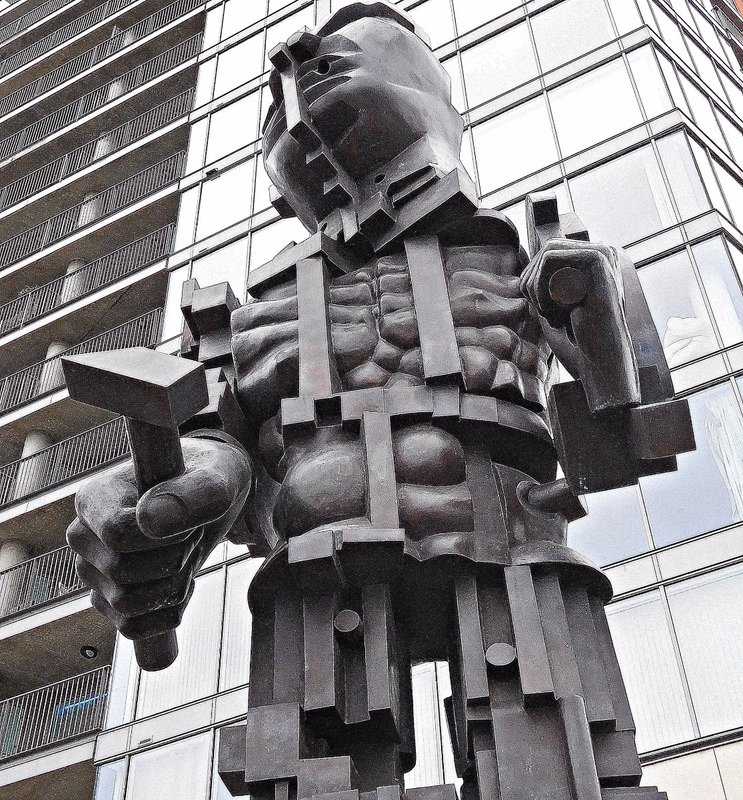 """Vulcan"" by Paolozzi"