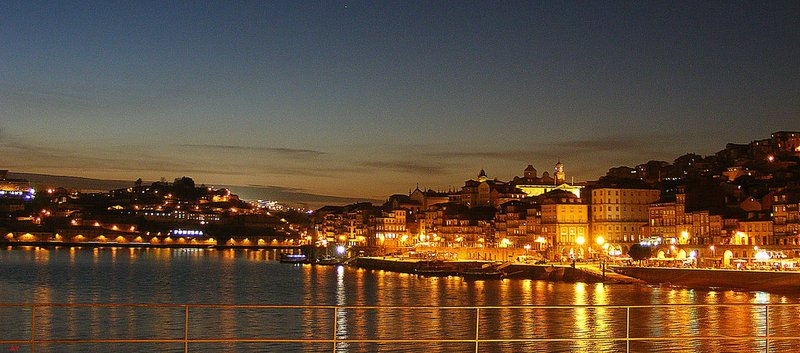 PORTO: Sunset on the Douro