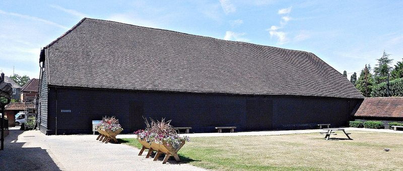 Manor Farm Ruislip: the Great Barn