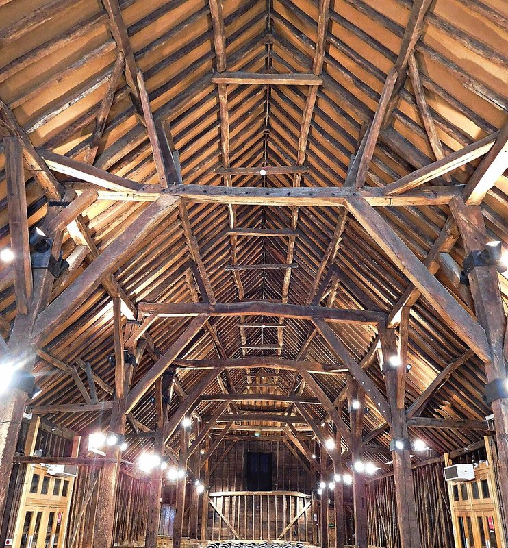 Manor Farm Ruislip: In the Great Barn
