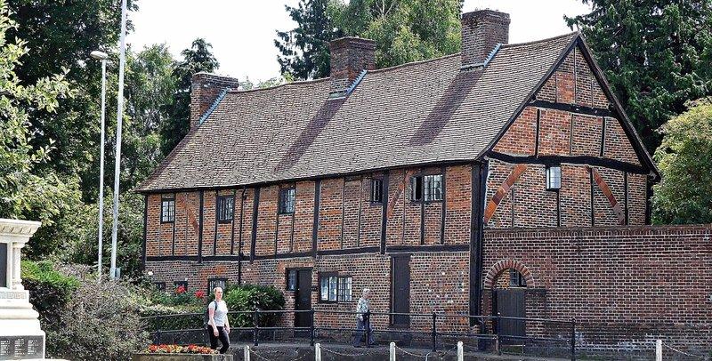 Former almshouses Bury Street Ruislip