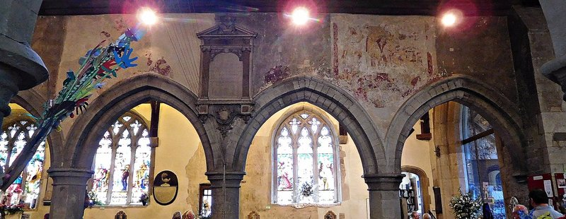 St Martins Ruislip frescos