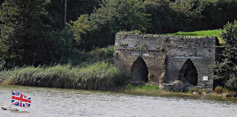 Two lime kilns in Frogmore Creek