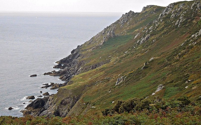 Coast on the south edge of Bolt Head